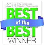 Place Perfect Realty as 2014 Reader's Choice Awards Best of the Best by Eagle Herald
